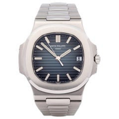Patek Philippe Nautilus 5711/1A-010 Men's Stainless Steel Unpolished Watch