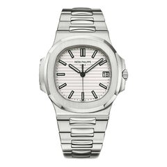 Patek Philippe Nautilus 5711/1A011 Stainless Steel White Dial Watch 'P-50'