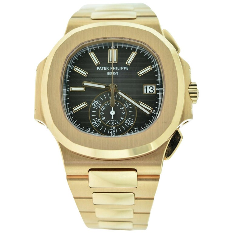 Patek Philippe Nautilus 5980/1R-001 Rose Gold Box and Papers 'P-6'