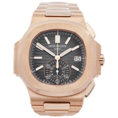 Patek Philippe Nautilus 5980R/1R-001 Men's Rose Gold Watch