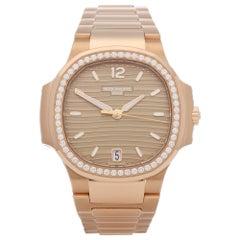 Patek Philippe Nautilus 7118/1200R-010 Unisex Rose Gold Watch