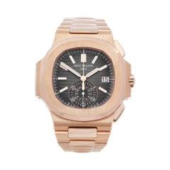 Patek Philippe Nautilus Chronograph 18k Rose Gold 5980/1R-001