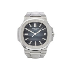 Patek Philippe Nautilus Double Sealed Stainless Steel 5711