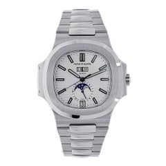 Patek Philippe Nautilus Steel White Dial Moon Phase 40MM Watch 5726/1A-010