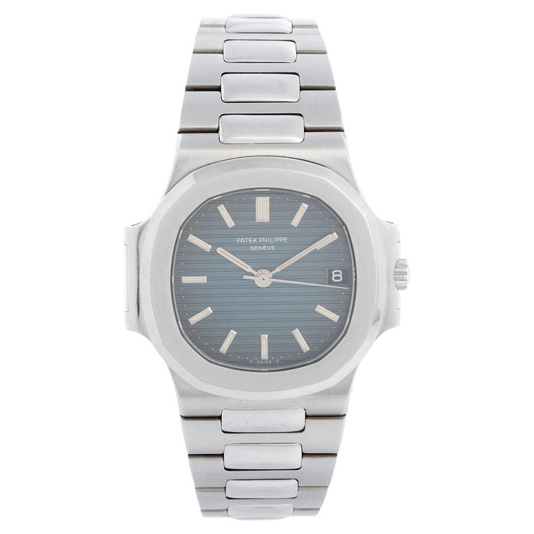 Patek Philippe Nautilus Men's Stainless Steel Watch 3800 For Sale