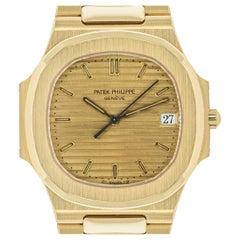 Patek Philippe Nautilus Mid-Size Yellow Gold 3900/001 Watch