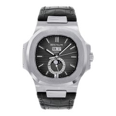 Patek Philippe Nautilus Moon Phase Stainless-Steel Watch 5726A-001