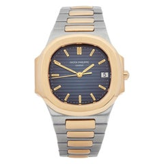Patek Philippe Nautilus Stainless Steel and Yellow Gold 3900