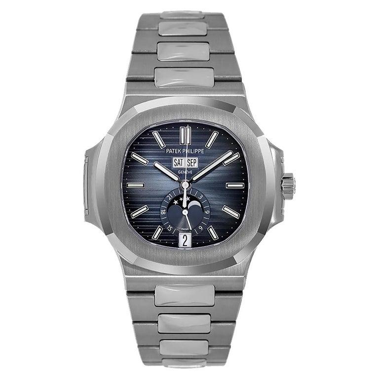 Patek Philippe Nautilus Stainless-Steel Annual Calendar Watch 5726/1A-014