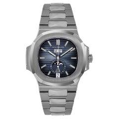 Patek Philippe Nautilus Stainless Steel Annual Calendar Watch 5726/1A-014