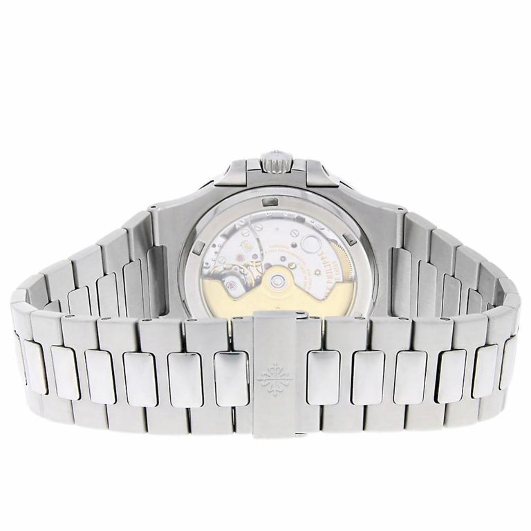 Patek Philippe Nautilus Reference #:5711/1A-010. The Patek Philippe Nautilus was first introduced in 1978 at a time when watch cases were getting thinner, the Nautilus flew against this trend and soon became one of the brand's most iconic watch