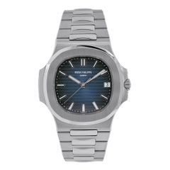 Patek Philippe Nautilus Stainless Steel Blue Dial Watch 5711/1A-010