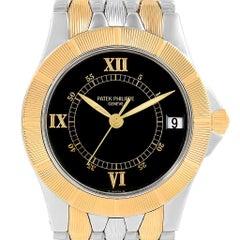 Patek Philippe Neptune Steel 18 Karat Yellow Gold Men's Watch 5080/i JA