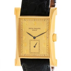 Patek Philippe Pagoda 18 Karat Yellow Gold Limited Edition Watch 5500J Papers