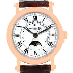Patek Philippe Perpetual Calendar Retrograde 18 Karat Rose Gold Watch 5059R