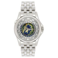 Patek Philippe Platinum Complications World Time Watch 5131/1P-001