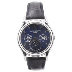 Patek Philippe Platinum Grand Complications Blue Dial