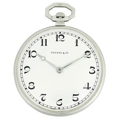 Patek Philippe Platinum Pocket Watch for Tiffany & Co
