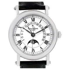 2006 Patek Philippe, Platinum, Reference 5059, Automatic Perpetual Calendar
