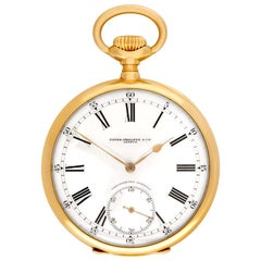 Patek Philippe Pocket Watch 180055, Case, Certified and Warranty