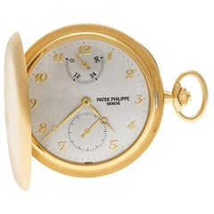 Patek Philippe Pocket Watch 983J-001, Silver Dial, Certified