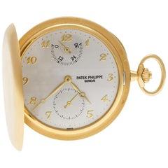 Patek Philippe Pocket Watch 983J-001, White Dial, Certified