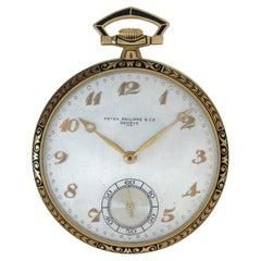 Patek Philippe Pocket Watch in 18k