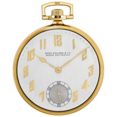 Patek Philippe Pocket Watch Pocket Watch 18 Karat Manual Watch