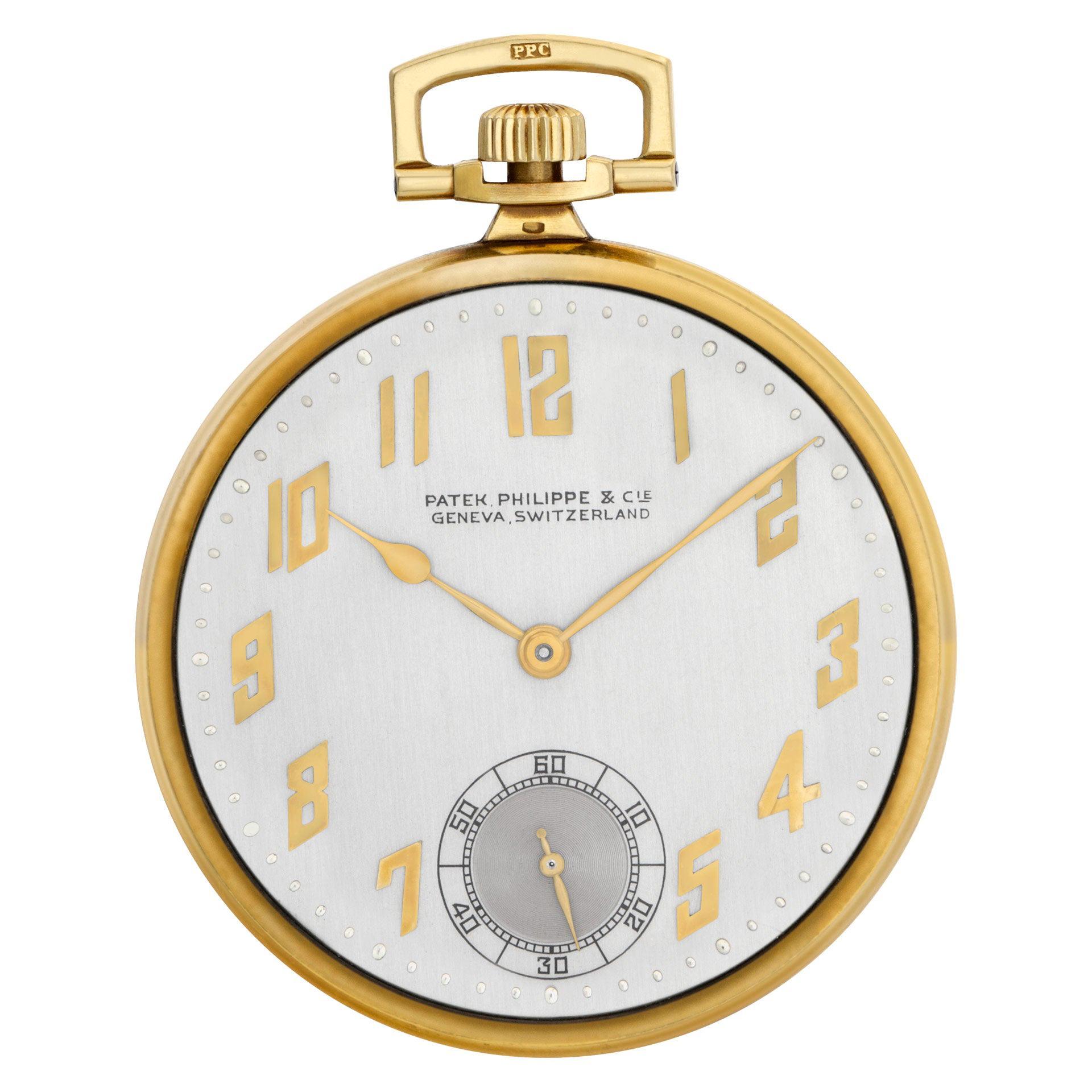 Patek Philippe Pocket Watch Pocket Watch 18k Manual Watch