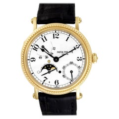 Patek Philippe Power Reserve 5015J, Gold Dial, Certified