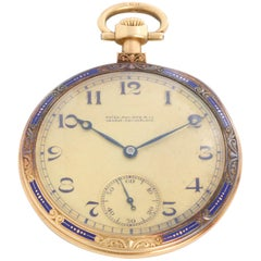 Patek Philippe Presentation 18 Karat Yellow Gold Pocket Watch