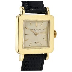 Patek Philippe Ref 2444 Vintage Yellow Gold Mechanical Wristwatch
