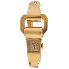Patek Philippe Retro Gold Watch Bracelet