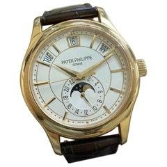 Patek Philippe Rose Gold 5205r-001 Annual Calendar Moon Phase Gmt Watch