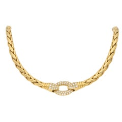 Patek Philippe Serpent Diamond Necklace in 18k Yellow Gold