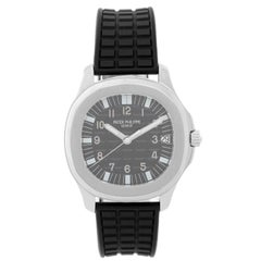 Patek Philippe Stainless Steel Jumbo Aquanaut Wristwatch 5065A or 5065/1A