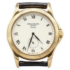 Patek Philippe Tiffany & Co. Calatrava Hobnail 18 Karat Gold Watch Ref 5115