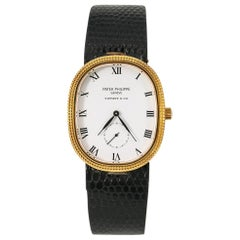 Patek Philippe Tiffany Golden Ellipse Classic 3987 Hand Wind Watch 18K YG