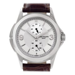 Patek Philippe Travel Time 5134, Silver Dial, Certified