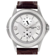 Patek Philippe Travel Time 5134, White Dial, Certified and Warranty
