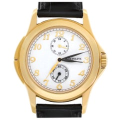 Patek Philippe Travel Time 5134J-001, White Dial, Certified and Warranty