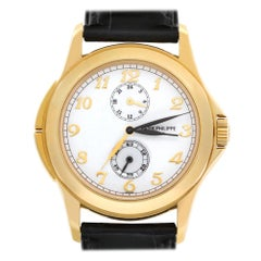 Patek Philippe Travel Time 5134J-001, White Dial, Certified