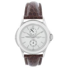 Patek Philippe Travel Time Men's Platinum Watch 5134 P 'or 5134P-001'