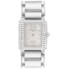 Patek Philippe Twenty-4 18 Karat White Gold Diamond Ladies Watch 4908/200G-011