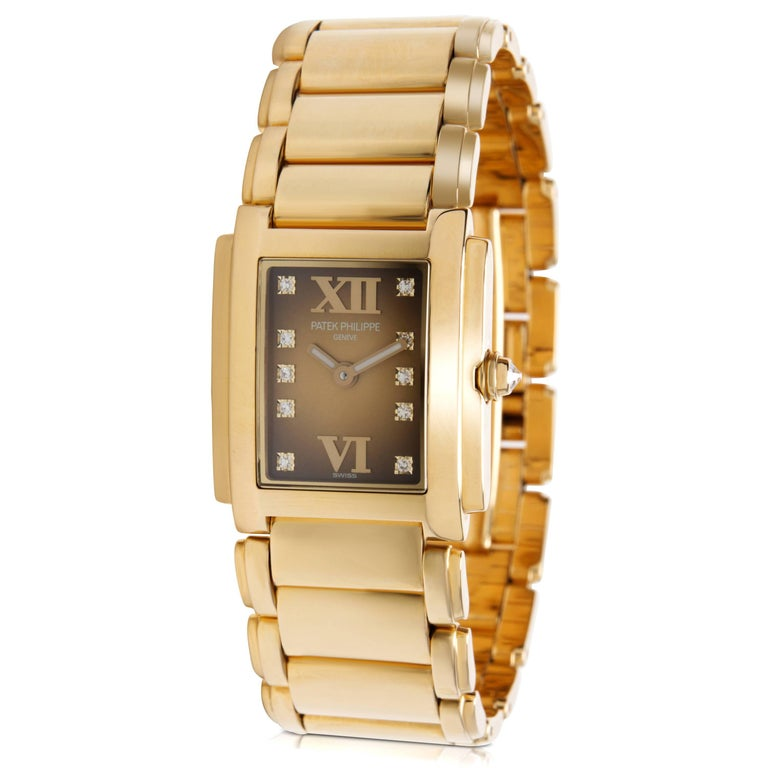 Patek Philippe Twenty-4 4907/1J-010 Women's Watch in 18 Karat Gold