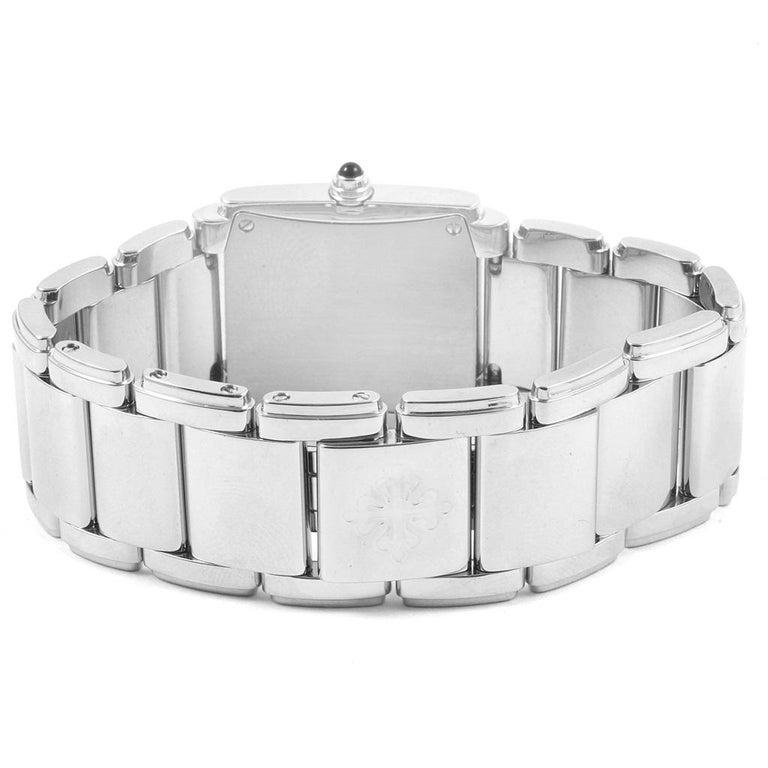 Patek Philippe Twenty-4 Diamond Ladies Quartz Watch 4910/10A-010 For Sale 3