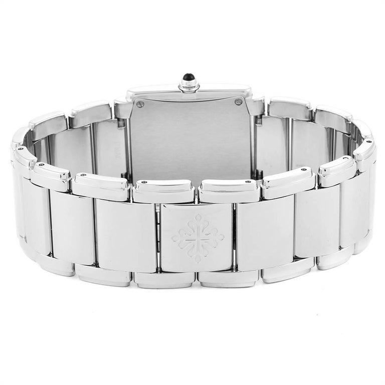 Patek Philippe Twenty-4 Diamond Ladies Quartz Watch 4910/10A-010 For Sale 3