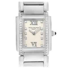 Patek Philippe Twenty-4 Diamond Ladies Quartz Watch 4910/10A-010