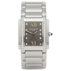 Patek Philippe Twenty-4 Diamond Stainless Steel 4910A