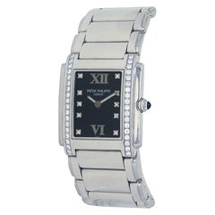 Patek Philippe Twenty-4 Diamond Stainless Steel Watch Quartz 4910/10A-001